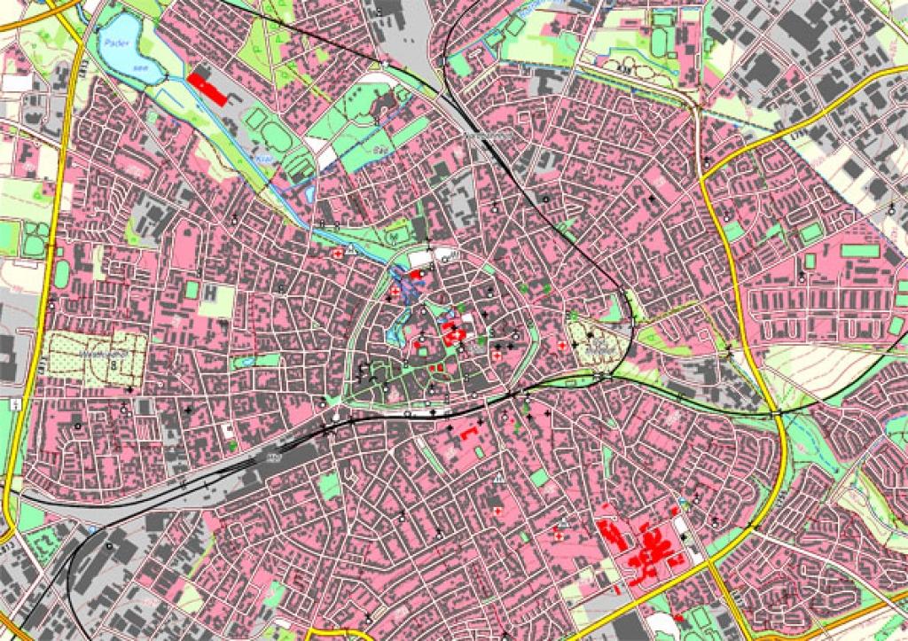 Topographische Karte Nrw.Topographische Karten Kreis Paderborn